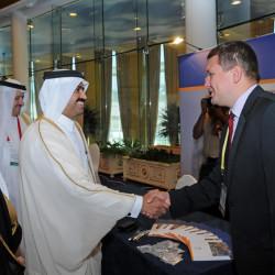 … które odwiedził m.in. Jego Ekscelencja Dr Mohammed Saleh Al Sada, minister Energetyki i Przemysłu Państwa Kataru.